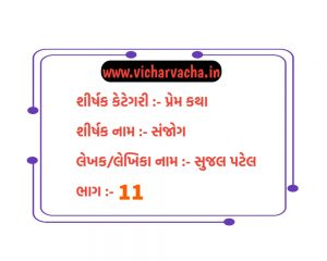 Read more about the article સંજોગ (ભાગ-11)