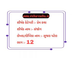 Read more about the article સંજોગ (ભાગ-12)